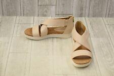 Adrienne Vittadini Claud Strappy Sandal - Women's Size 8.5M - Bone