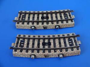MARKLIN H0 - 5147 - 2x Curved Control Track Section - M Track / EXC