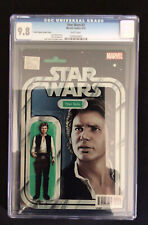 Star Wars # 2  CGC 9.8 Han Solo Action Figure Variant Cover Marvel Comics