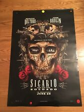 SICARIO DAY OF THE SOLDADO MOVIE POSTER 2 Sided ORIGINAL 27x40 JOSH BROLIN