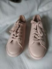 Tommy Hilfiger Womens Luster Pink Fashion Sneaker Size 9