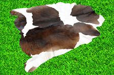 """New Cowhide Rug Hair On COW HIDE RUG Area Rug (52"""" x 52"""")Animal Carpet 18.8 SF"""