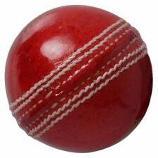 "Special plane Red Leather Cricket Ball"" Pack of 2 + Free Shipping"