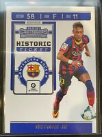 2019-20 PANINI CHRONICLES CONTENDERS NEYMAR JR. HISTORIC TICKET SP FC BARCELONA