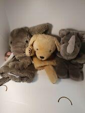 Animal Wildlife Hand Puppet Super Soft Plush Puppets Kid Children Toy