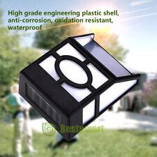 LED Solar Wall Mount Light Outdoor Garden Path Way Fence Yard Patio Lamp 2020New