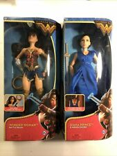 Mattel Dc Comics Wonder Woman Battle Ready Diana Prince HiddenSword Doll 12 Inch
