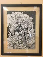 Simon Bisley Heavy Metal -Simon Coldwater- Original Art