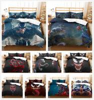 Customized 3D Venom Kids Bedding Set Comforter Cover Duvet Cover Pillowcase Gift