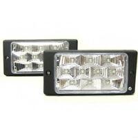 Universal 2 x 10 LED Fog Spot Lights 12V White Light Car Van 4x4 Pick Up Offroad