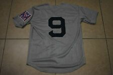New!! Ted Williams Boston Red Sox Heavyweight Gray Baseball Jersey Adult Large