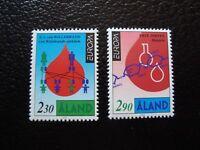 Aland (Finland) - Stamp Yvert / Tellier N° 86 87 N MNH (COL3)