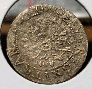 1610 Transylvania. Gabriel Bathory. Silver Groschen. Rare