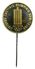 OLD OLYMPIC PIN LITHUANIA NOC UNDATED  RARE