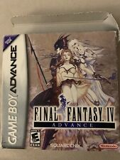 Genuine Final Fantasy Iv Advance (Nintendo Game Boy Advance, 2005) Legitimate
