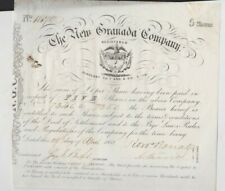 More details for one new granada company five shares certificate in extremely fine condition