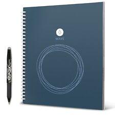 "Rocketbook Wave Smart Notebook Standard Size 8.5"" x 9.5"" + Pilot FriXion Pen"