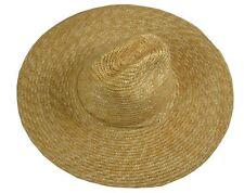 Wild Brim Men's on Duty Lifeguard Straw Beach Hat