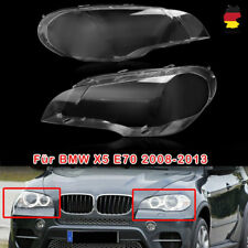 PAAR Scheinwerferglas Für BMW X5 E70 08-2013 Linsen Streuscheiben Abdeckung DE