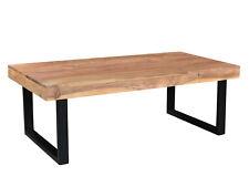 Couchtisch Ettrick 116x57 Echtholz Akazie natur Holz Metall Möbel Sofatisch