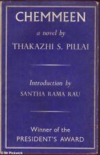 Thakazhi Pillai CHEMMEEN 1st Ed. HC Book
