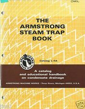 1971 ARMSTRONG MACHINE WORKS Steam Traps CATALOG L-4A Drainage ASBESTOS GASKETS