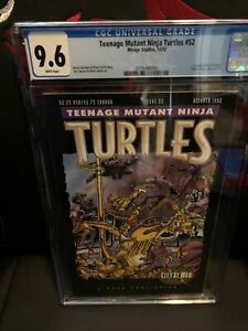 Teenage Mutant Ninja Turtles #52 cgc 9.6 WP FIRST KARAI