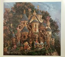 James Christensen College Magical Knowledge 1993 Signed Limited Edition #5/4500