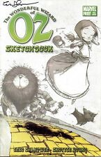 signed promo THE WONDERFUL WIZARD of OZ sketchbook 1 ERIC SHANOWER MARVEL COMIC