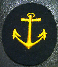 ✚3586✚ German NAVY REPLACEMENT SERVICE NCO'S CAREER SLEEVE INSIGNIA PATCH WW2