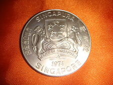 Singapore 1974, $10 Sea Eagle, 500/1000 Fineness Silver* UNC