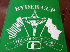 Authentic seat pad 1999 Ryder Cup Country Club Brookline Rare Used by a USA WAG