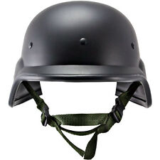 M88 Tactical Airsoft KEVLAR PASGT SWAT Police Helmet Halloween Costume Black