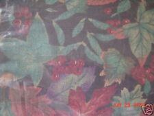 Longaberger 2002 Autumn Pail Basket Falling Leaves Liner - NEW