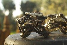 Handmade Bronze Lioness Ring