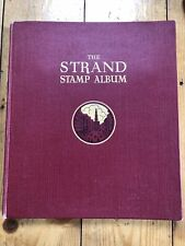 STANLEY GIBBONS THE STRAND STAMP ALBUM 26TH EDITION + OVER 260 STAMPS