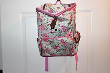 Little Pink Floral Backpack For Kids or Adults Confetti Brand