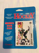 1991-1992 Upper Deck Minnesota North Stars Team Set Blisterpack