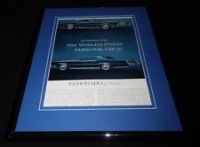 1966 Cadillac Eldorado 11x14 Framed ORIGINAL Vintage Advertisement