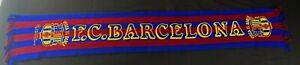 Écharpe Visca el Barca Barcelone vintage Barcelona football scarf soccer FCB