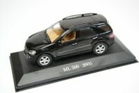 Mercedes-Benz ML 500 W164 Black 2005 Year 1/43 Scale Rare Collectible Model Car