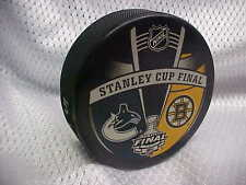2011 NHL Vancouver Canucks v Boston Bruins Stanley Cup Final Souven. Hockey Puck