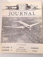 AAHS Journal Airplane Magazine Mystery Of Dixmude Summer 1964 121316rh