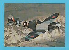 AEROPLANES -  AFTER THE BATTLE POSTCARD  -  SPITFIRE  AEROPLANE  -  CARD  P 105