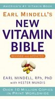 Earl Mindells New Vitamin Bible by Earl Mindell, Hester Mundis