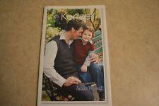 kertzer knitting pattern book #455 Family V-neck Vest men women child plus more