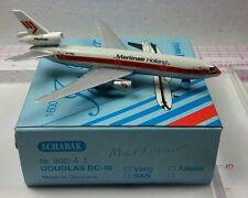 New Vintage Schabak MARTINAIR HOLLAND Douglas DC-10 Diecast 1:600 scale