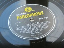 THE BEATLES PLEASE PLEASE ME 1963 UK LP NO DATE  1ST TYPE GOLD SLEEVE