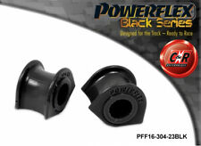 Lancia Delta 83-00 Powerflex Black Fr ARB To Chassis Bushes 23mm PFF16-304-23BLK