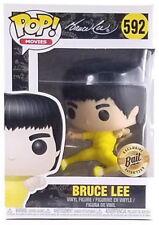 New Funko Pop Movies Game Of Death Bruce Lee #592 Bait Exclusive In Hand